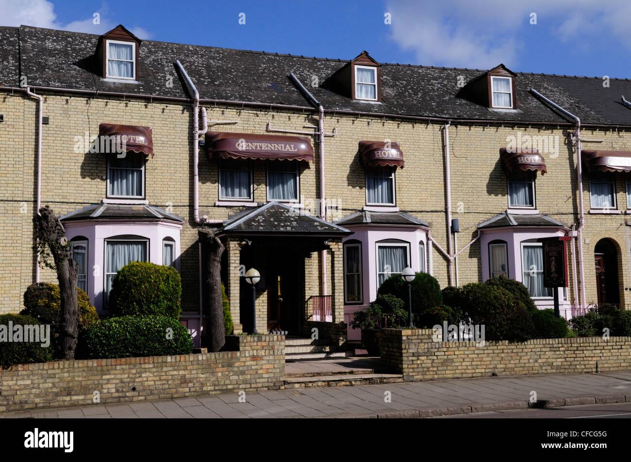 The Centennial Hotel, Hills Road, Cambridge, England, UK - Stock Image