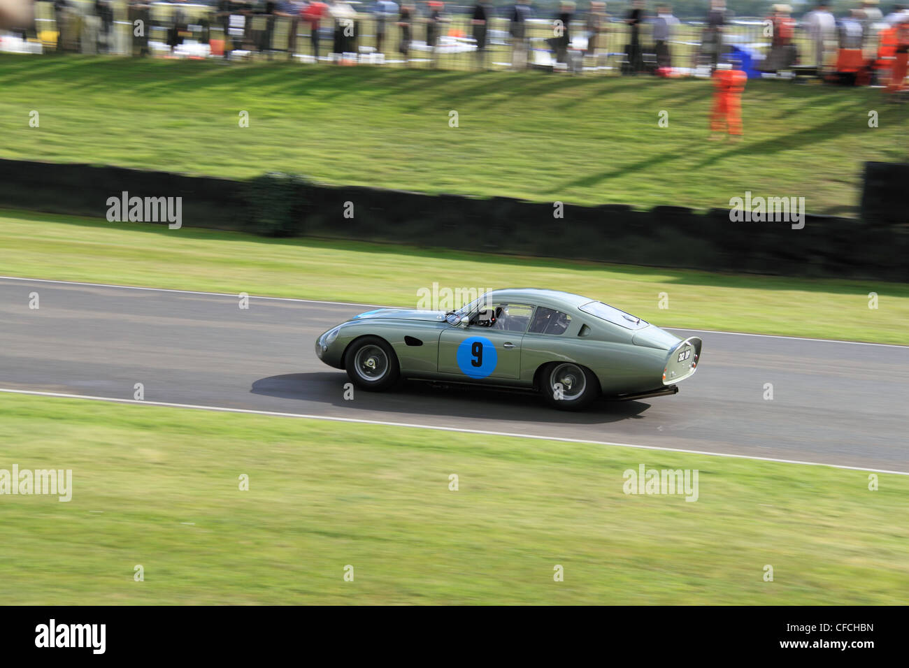 1961 Aston Martin DP212 (modified DB4GT prototype), Goodwood Revival 2011, Chichester, West Sussex, England, Great - Stock Image