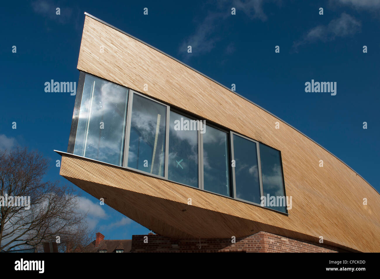 Michael Baker Boathouse, Kings School, Worcester, UK - Stock Image