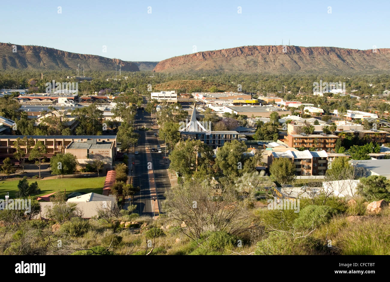 Alice Springs, Northern Territory, Australia, Pacific - Stock Image