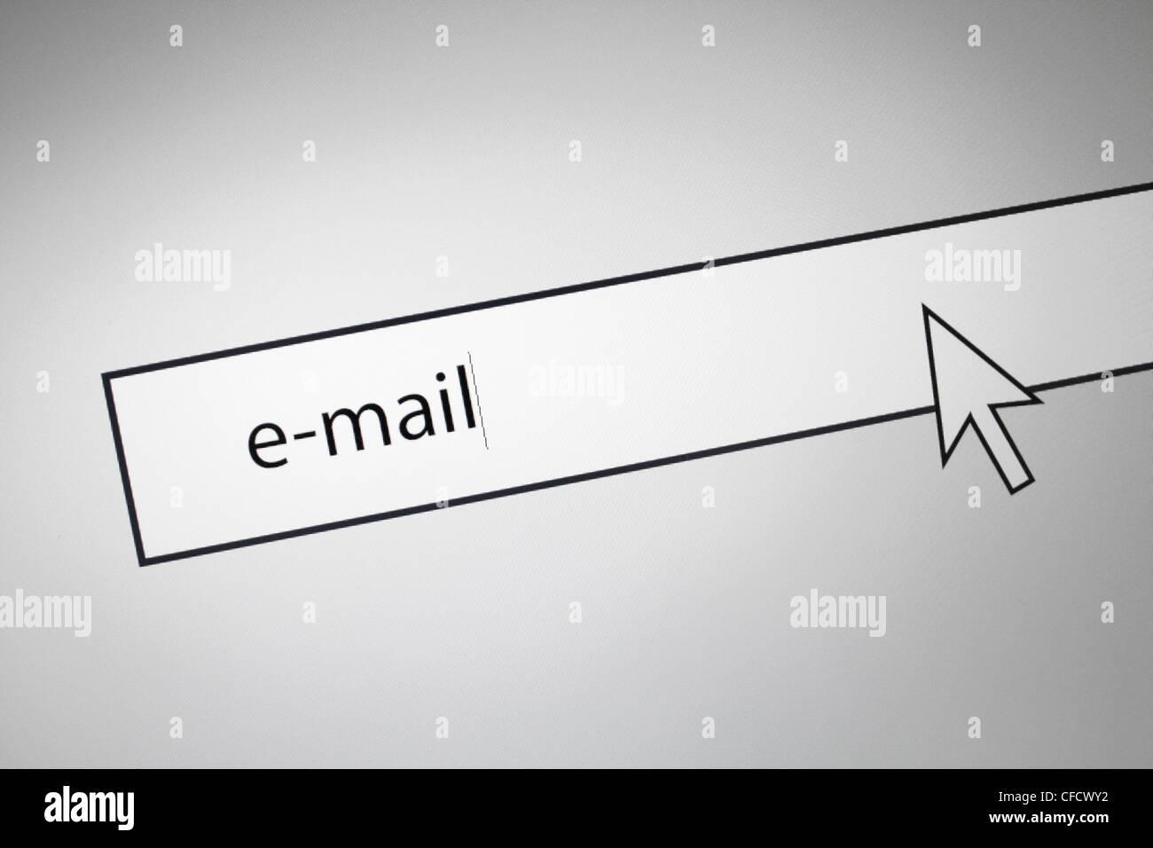 E-mail - Stock Image