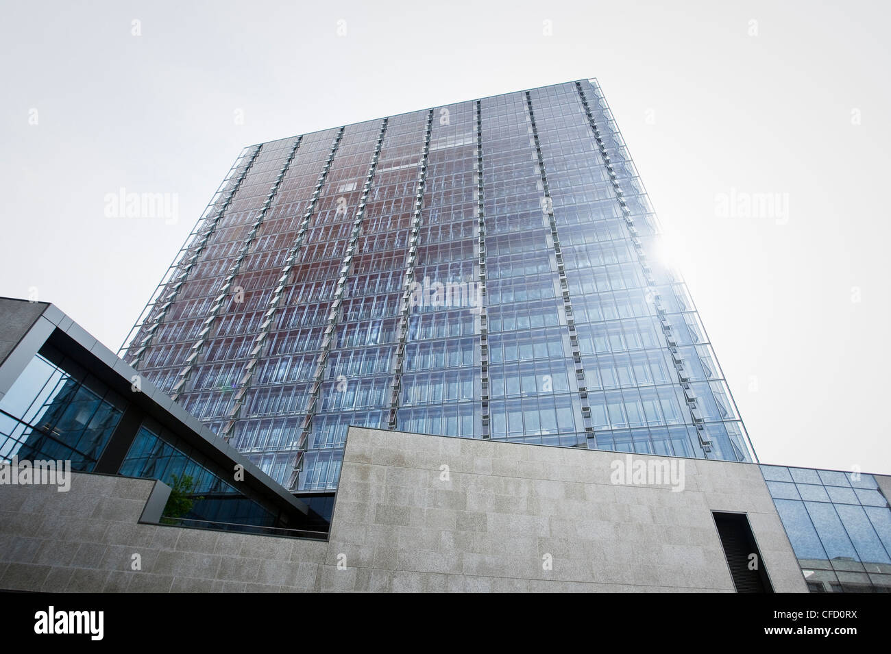 ManitobHydro office tower  Considered one world's - Stock Image