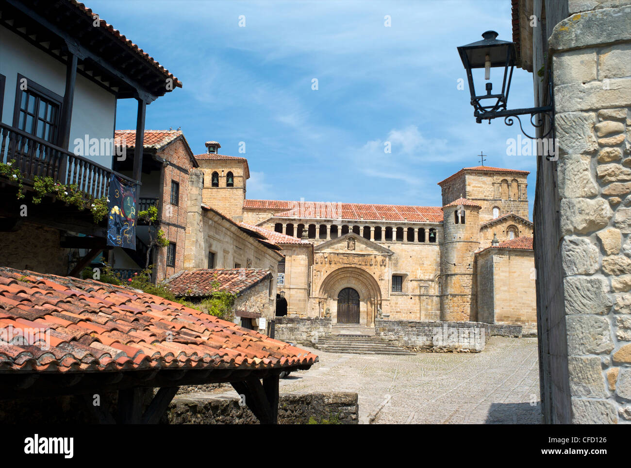 Santillana del Mar, Cantabria, Spain, Europe Stock Photo