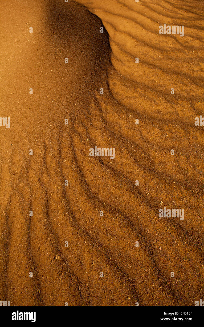 Sand formations in Sarigua national park (desert) in Herrera province, Republic of Panama. - Stock Image