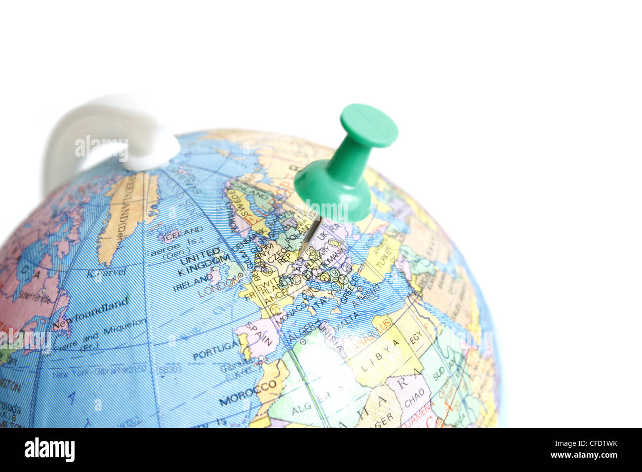 World map countries with europe stock photos world map countries globe stock image gumiabroncs Images