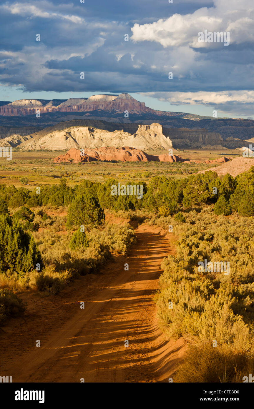 Skutumpah,road from Willis creek towards Cannonville, Grand Staircase-Escalante National Monument, Kane County, - Stock Image