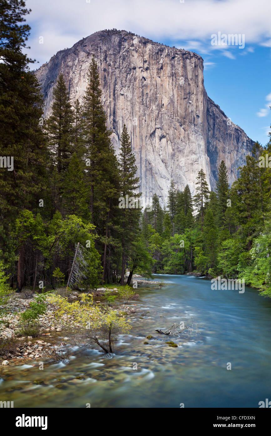 El Capitan, Yosemite National Park, Sierra Nevada, California, USA - Stock Image