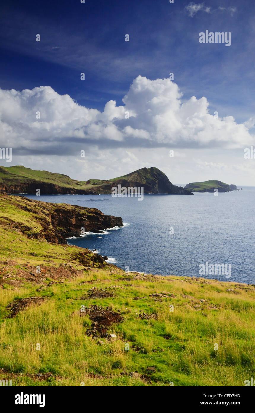 Baia d'Abra, Madeira, Portugal, Atlantic Ocean, Europe - Stock Image