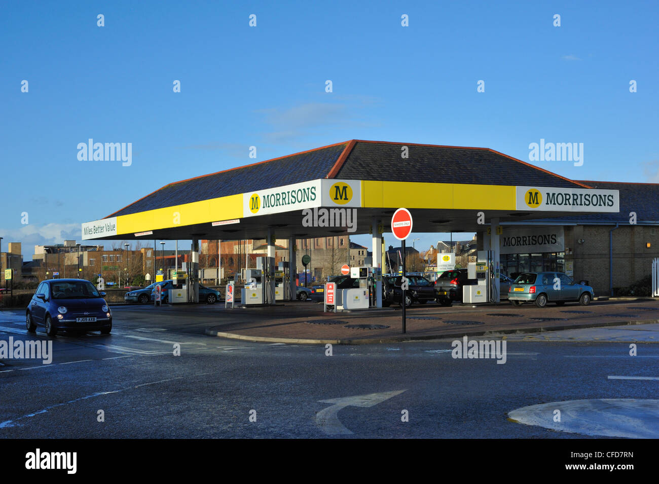 Morrisons Petrol Station Stock Photos & Morrisons Petrol Station ...
