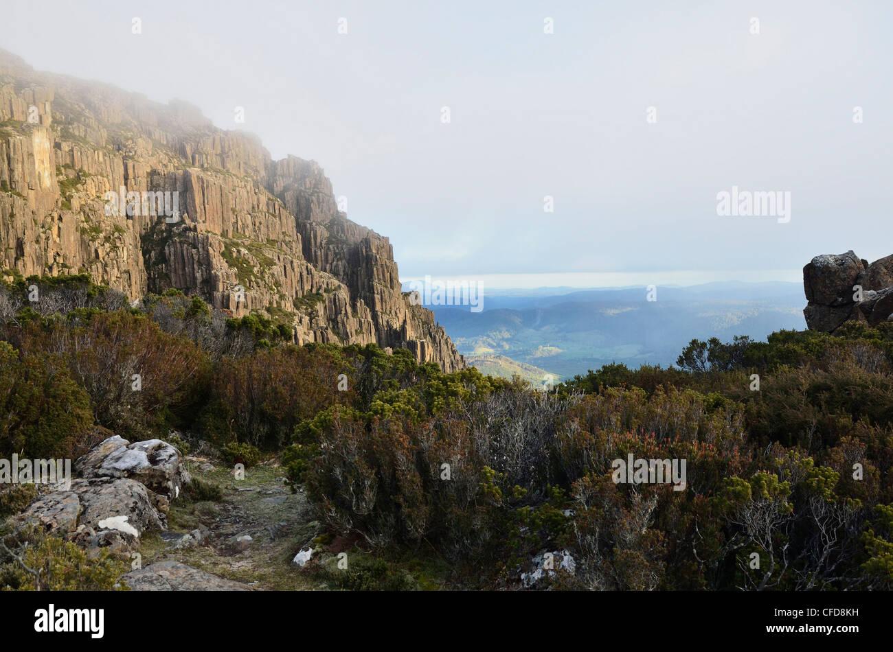 Ben Lomond, Ben Lomond National Park, Tasmania, Australia, Pacific - Stock Image