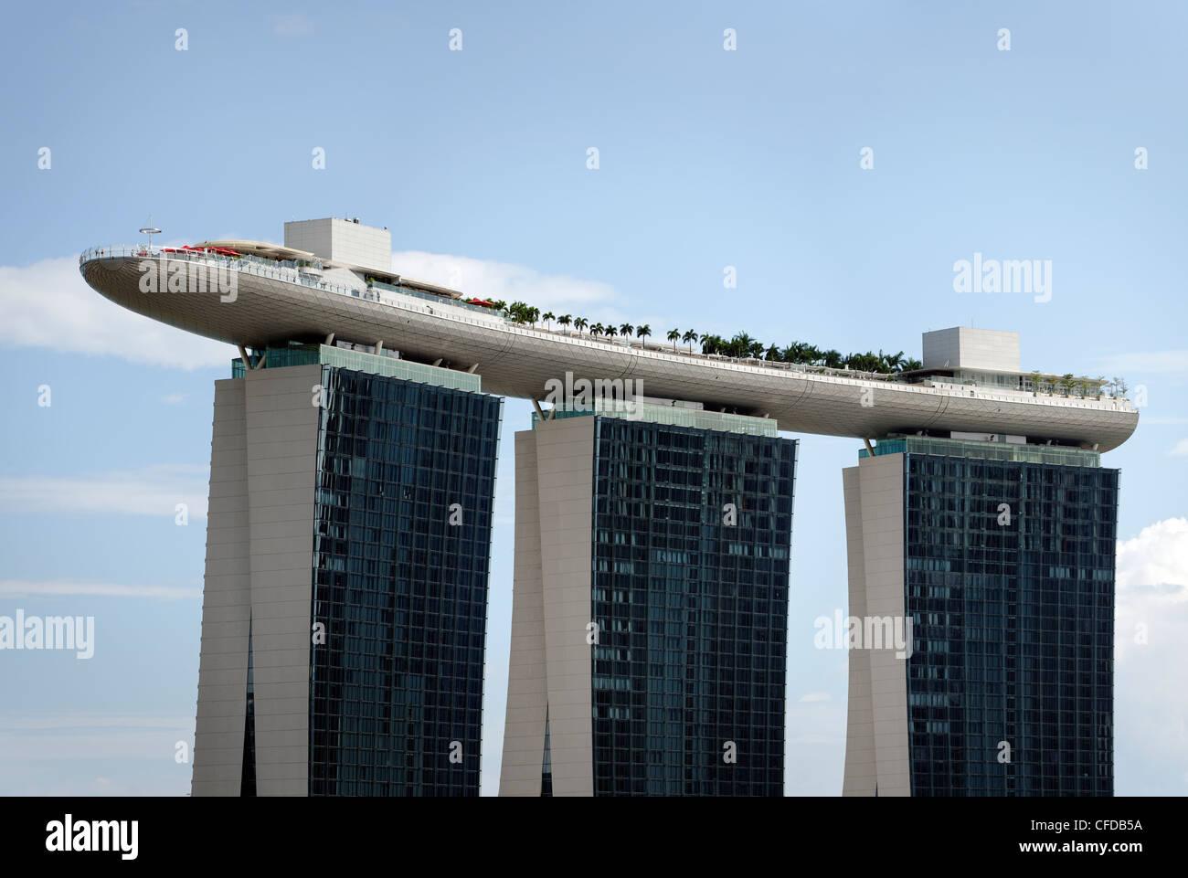 Marina Bay Sands, Singapore - Stock Image