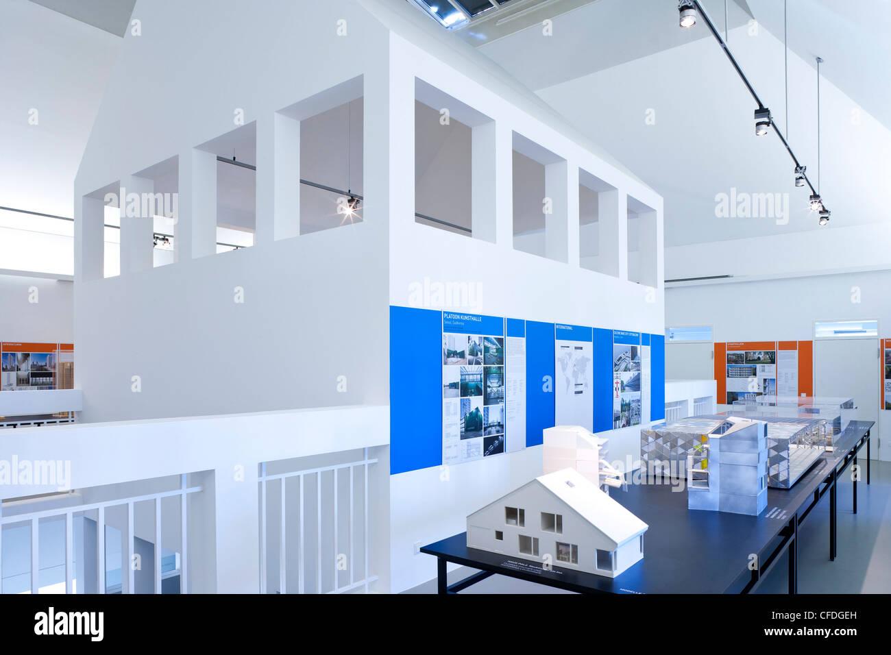 Deutsches Architekturmuseum, architect O M  Ungers, Frankfurt am Main, Hesse, Germany, Europe - Stock Image