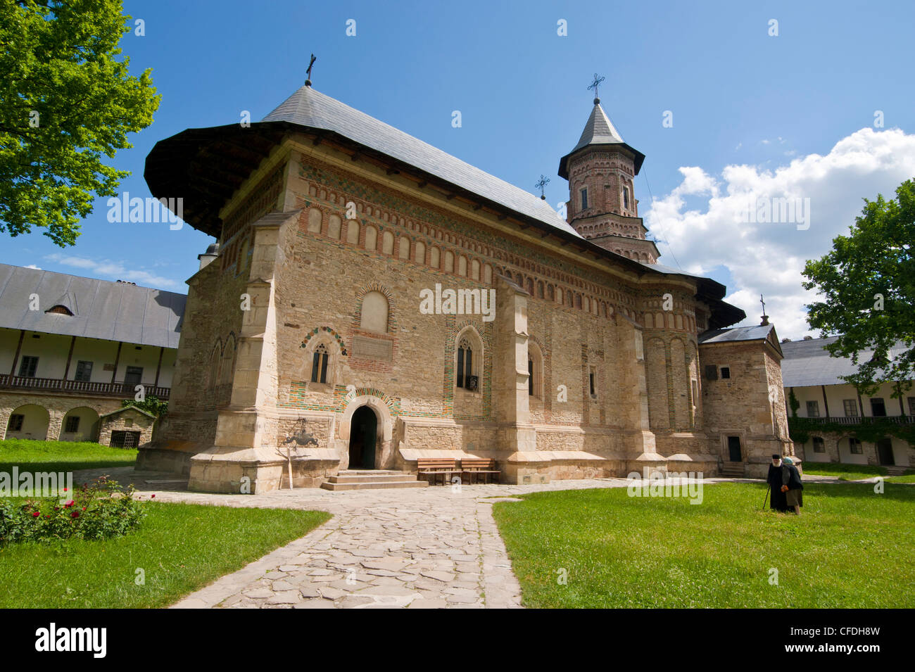 Monastery Neamt, Moldova, Romania, Europe - Stock Image