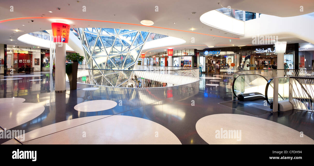 MyZeil is a shopping centre in Frankfurts city centre, Frankfurt am Main, Hesse, Germany, Europe - Stock Image
