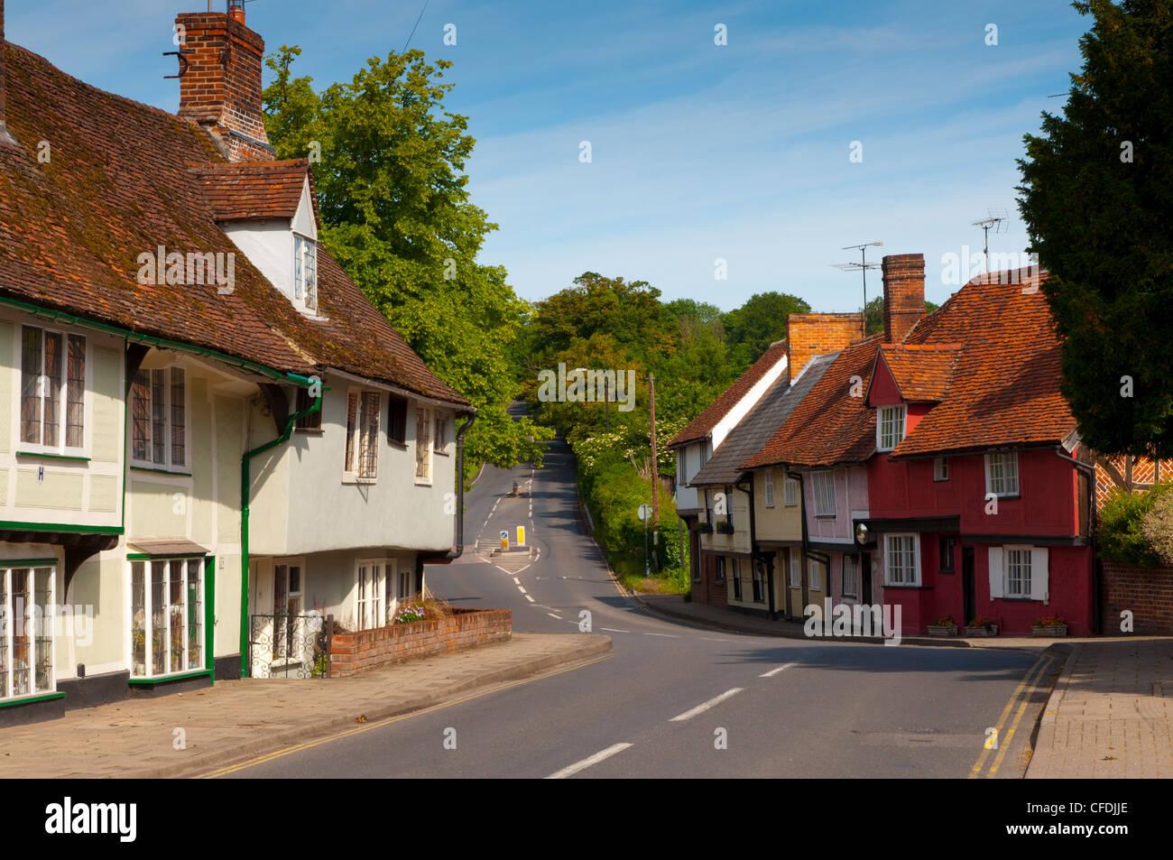 Saffron Walden, Essex, England, United Kingdom, Europe - Stock Image
