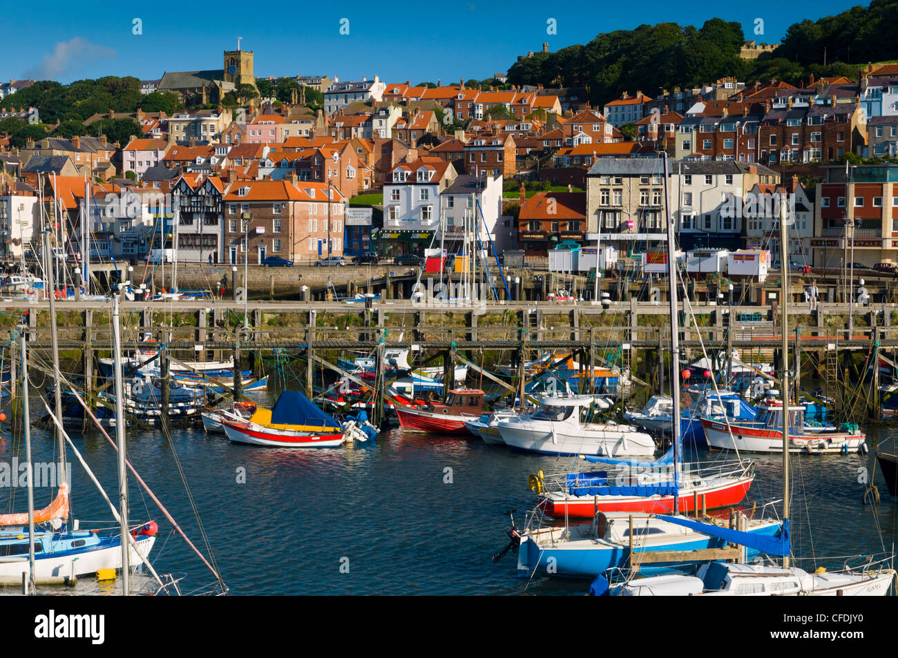 Scarborough, North Yorkshire, Yorkshire, England, United Kingdom, Europe - Stock Image