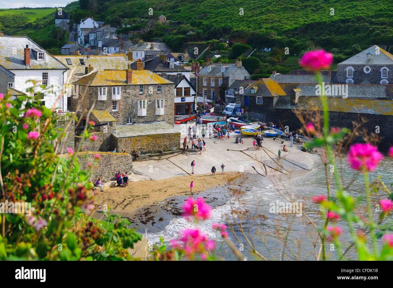 Port Isaac, Cornwall, England, United Kingdom, Europe - Stock Image
