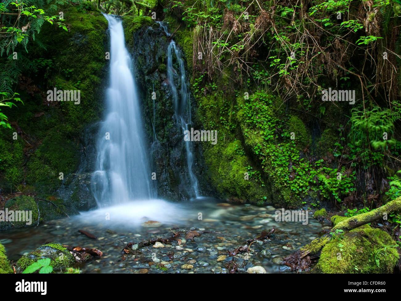 Hidden Spring Falls Goldstream Provincial Park Vancouver Island