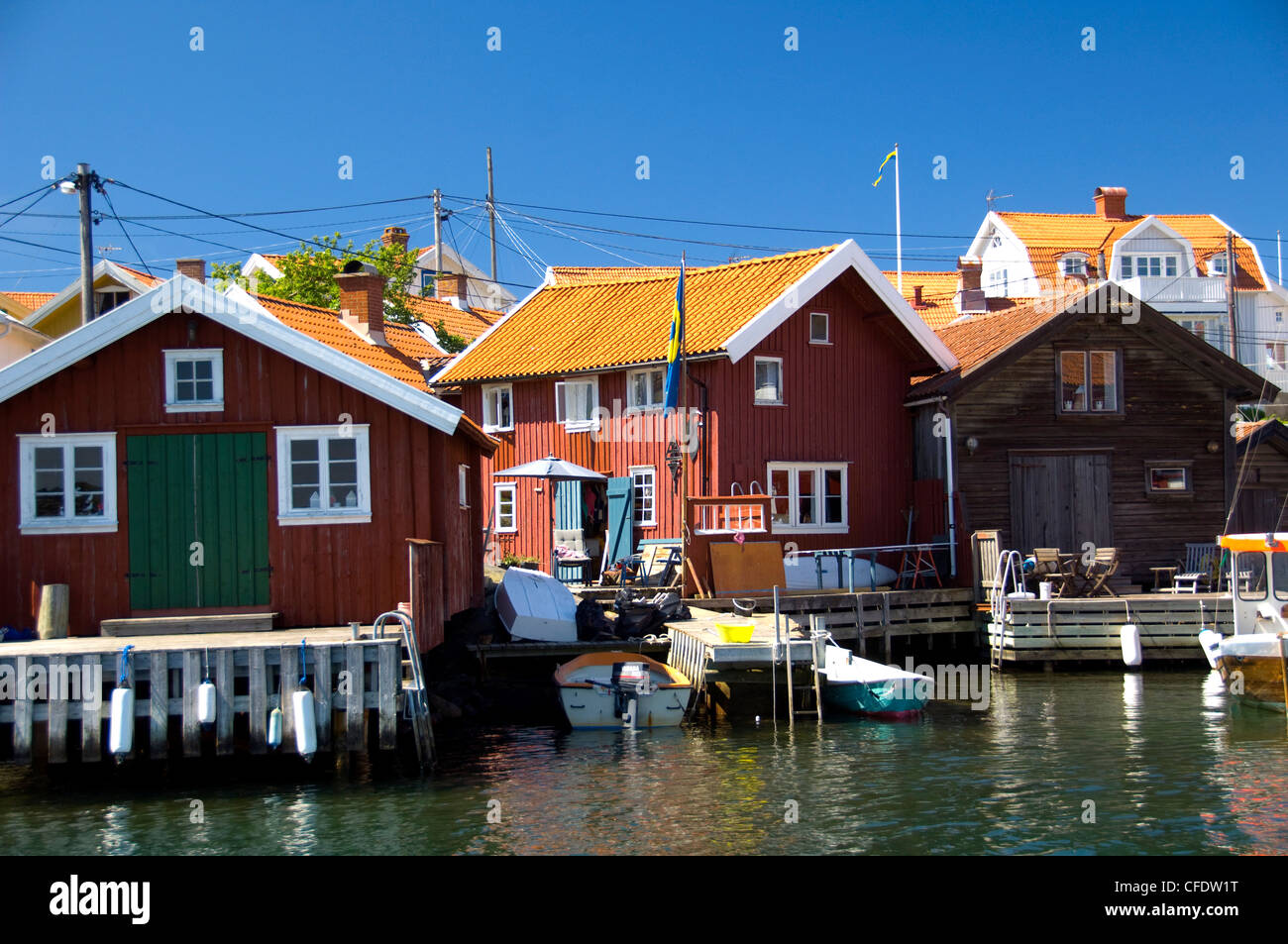 Orust Island, West Gotaland, Sweden, Scandinavia, Europe - Stock Image