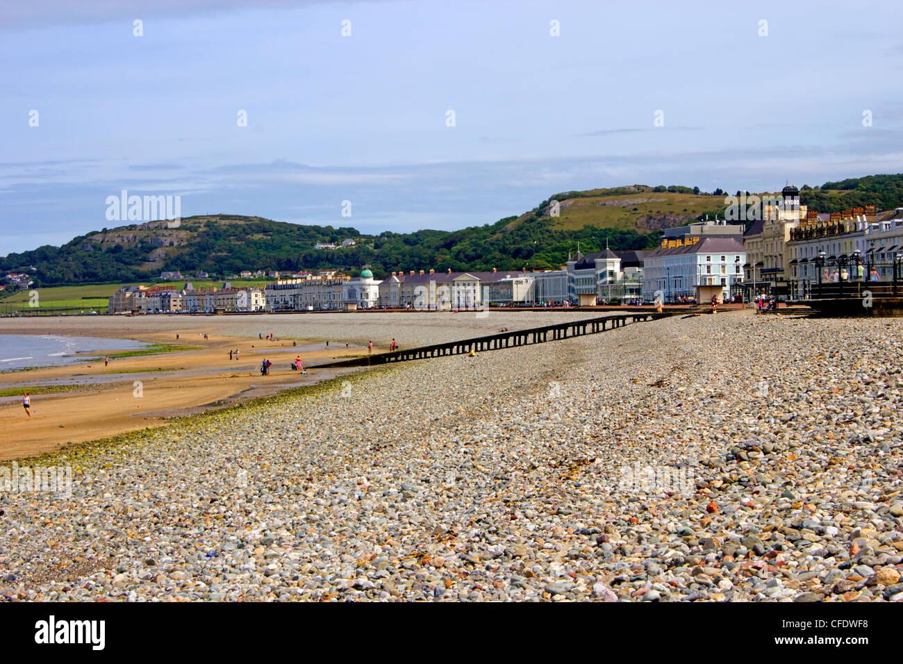 Llandudno Beach, Clwyd, North Wales, Wales, United Kingdom, Europe - Stock Image
