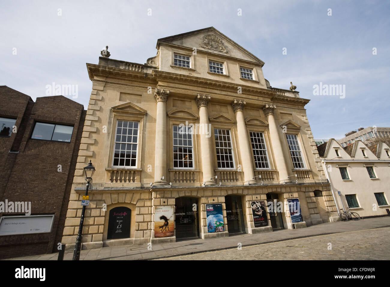 Old Vic Theatre, Bristol, Avon, England, United Kingdom, Europe - Stock Image
