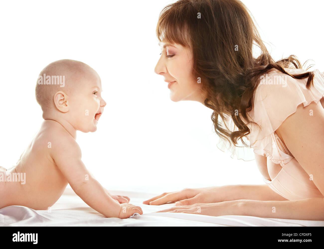 Motherhood - Stock Image