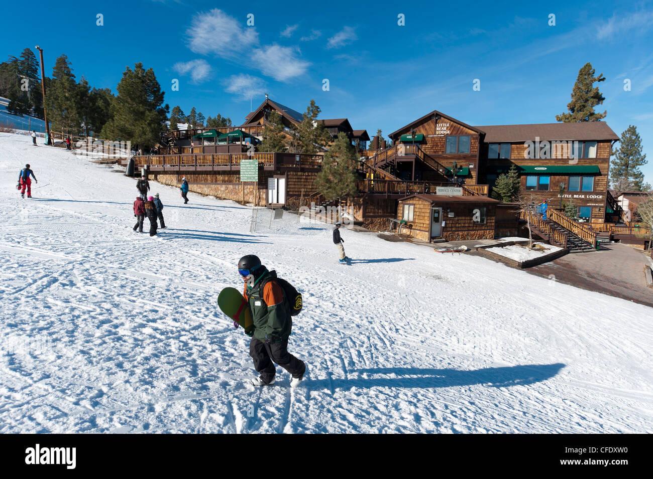ski resort, big bear lake, california, united states of america