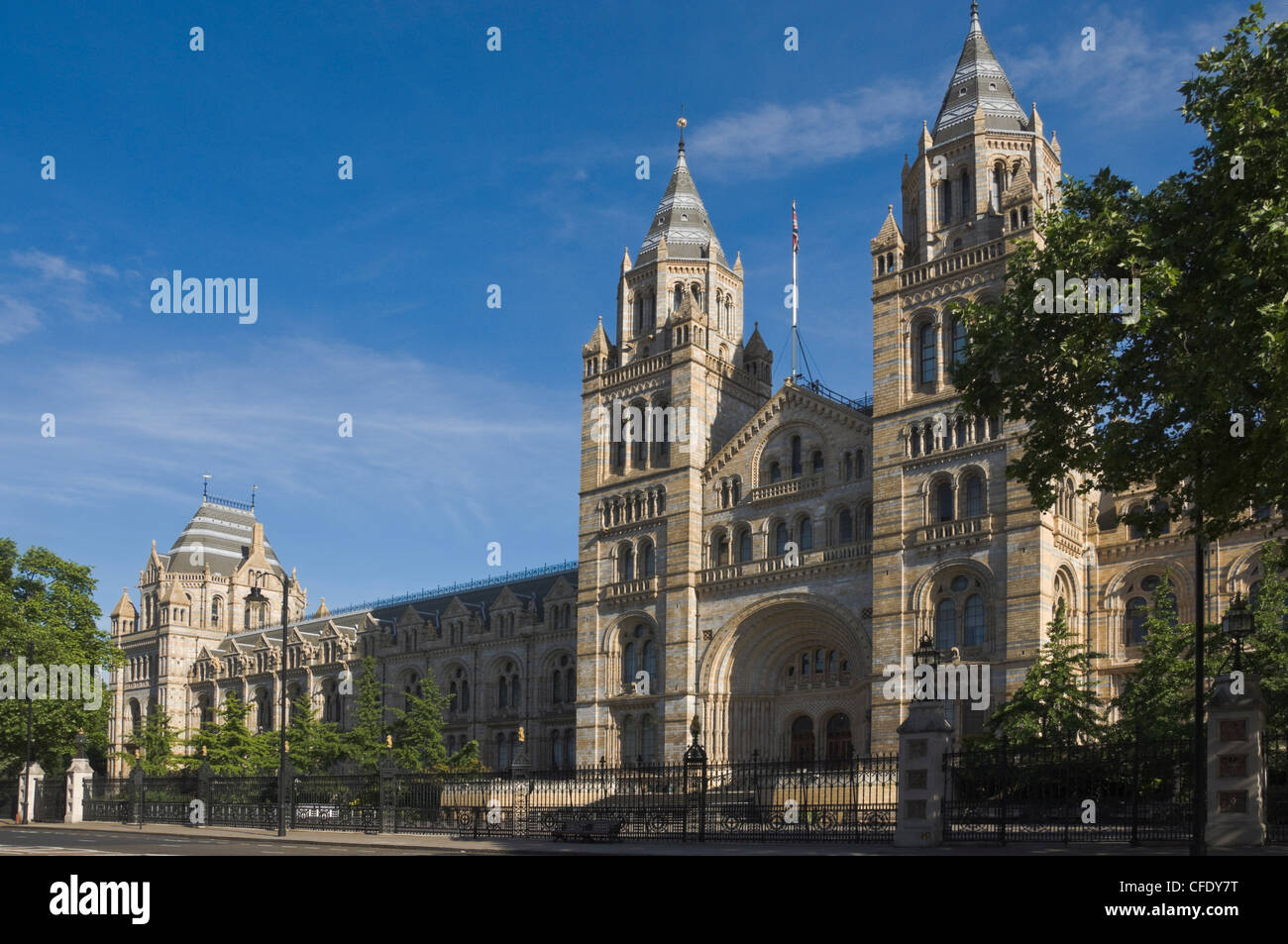 The Natural History Museum, London, England, United Kingdom, Europe - Stock Image