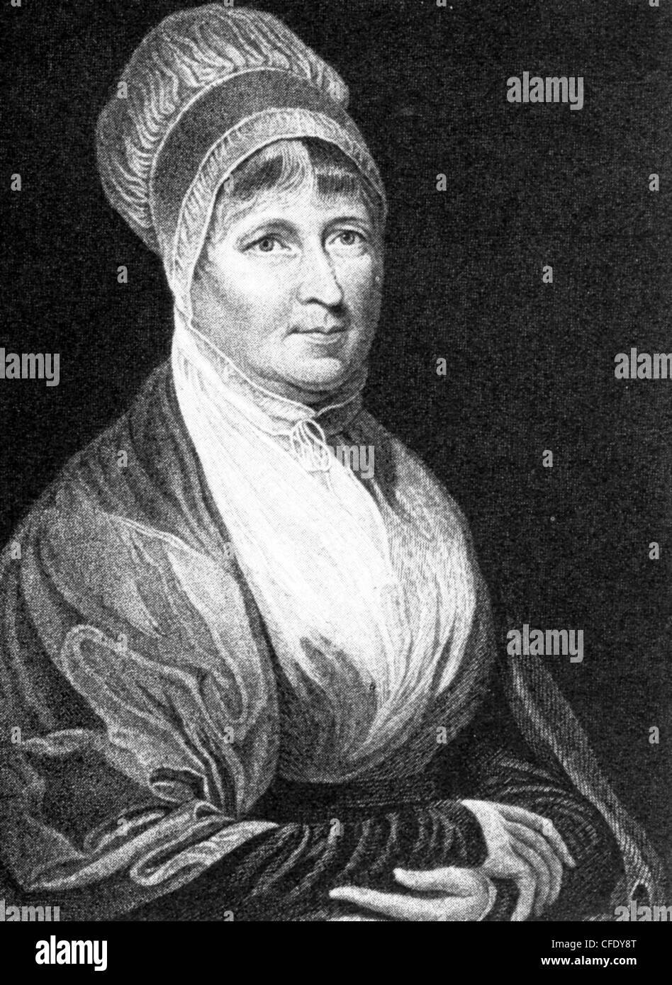 ELIZABETH FRY (1780-1845) English prison reformer - Stock Image