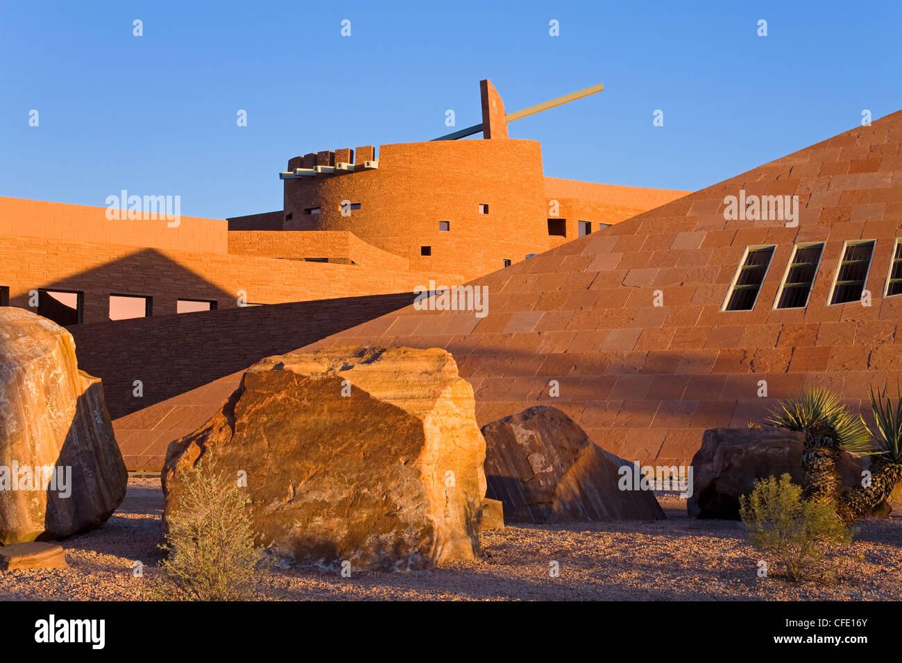 Clark County Government Center, Las Vegas, Nevada, United States of America, - Stock Image