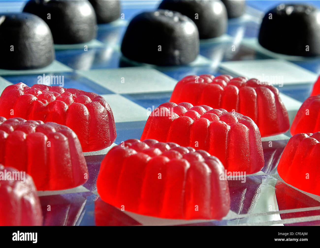Sweet Draughts - Stock Image