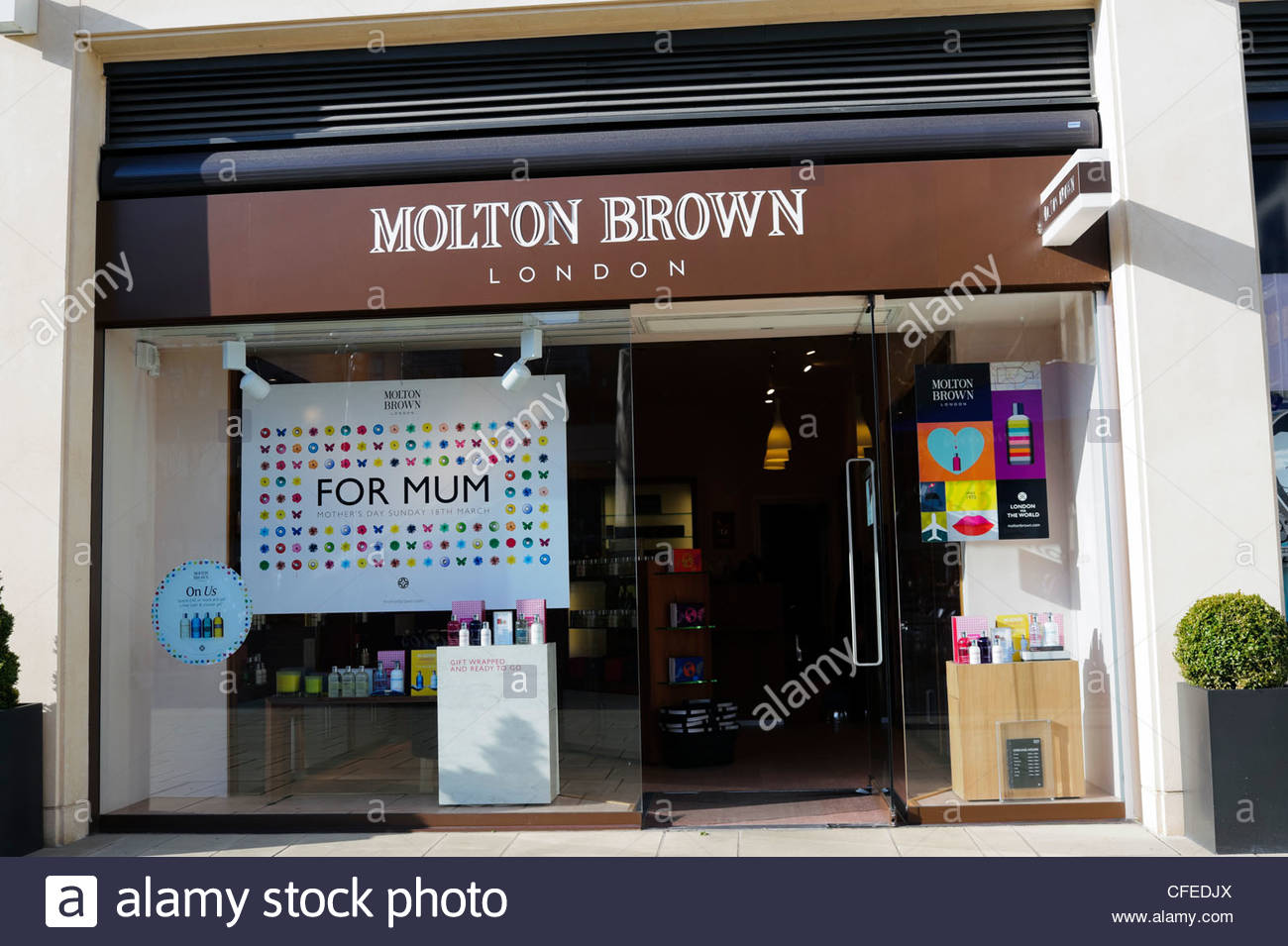Molton Brown shop in Bristol City Center, UK. - Stock Image