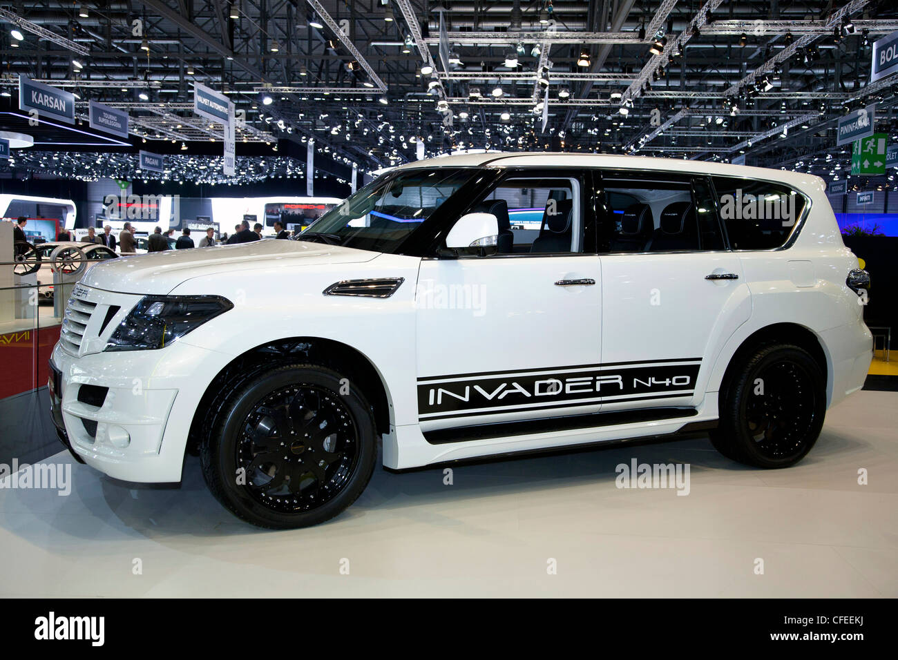 Nissan Patrol High Resolution Stock Photography And Images Alamy