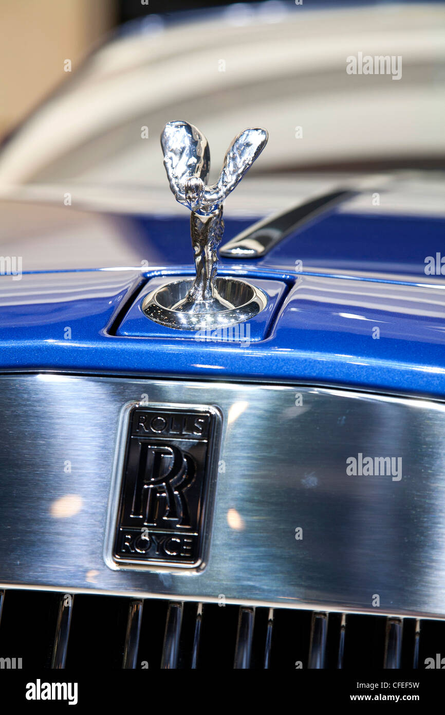 The Spirit of Ecstasy is the name of the hood ornat on Rolls ...