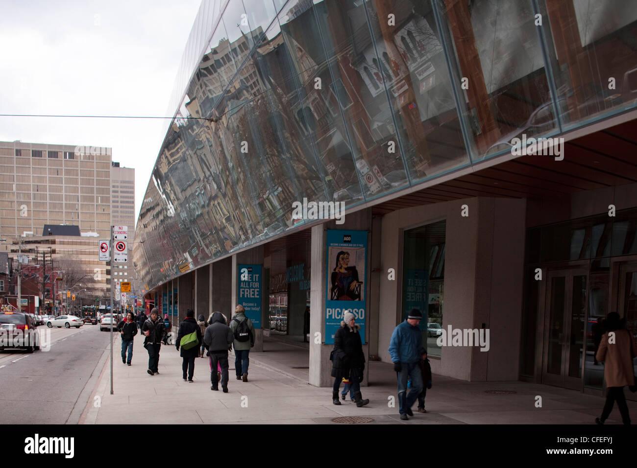 Foto De Galería De Arte De Ontario Ago Toronto: Art Gallery Of Ontario In Toronto Stock Photos & Art