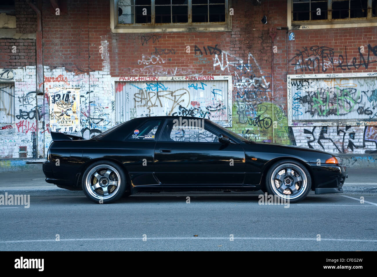 Nissan Skyline High Resolution Stock Photography And Images Alamy