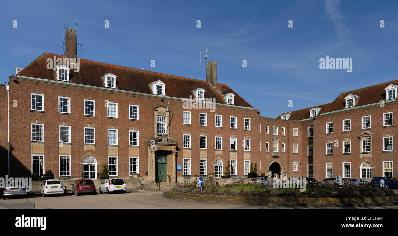 West Sussex County Hall Chichester - Stock Image