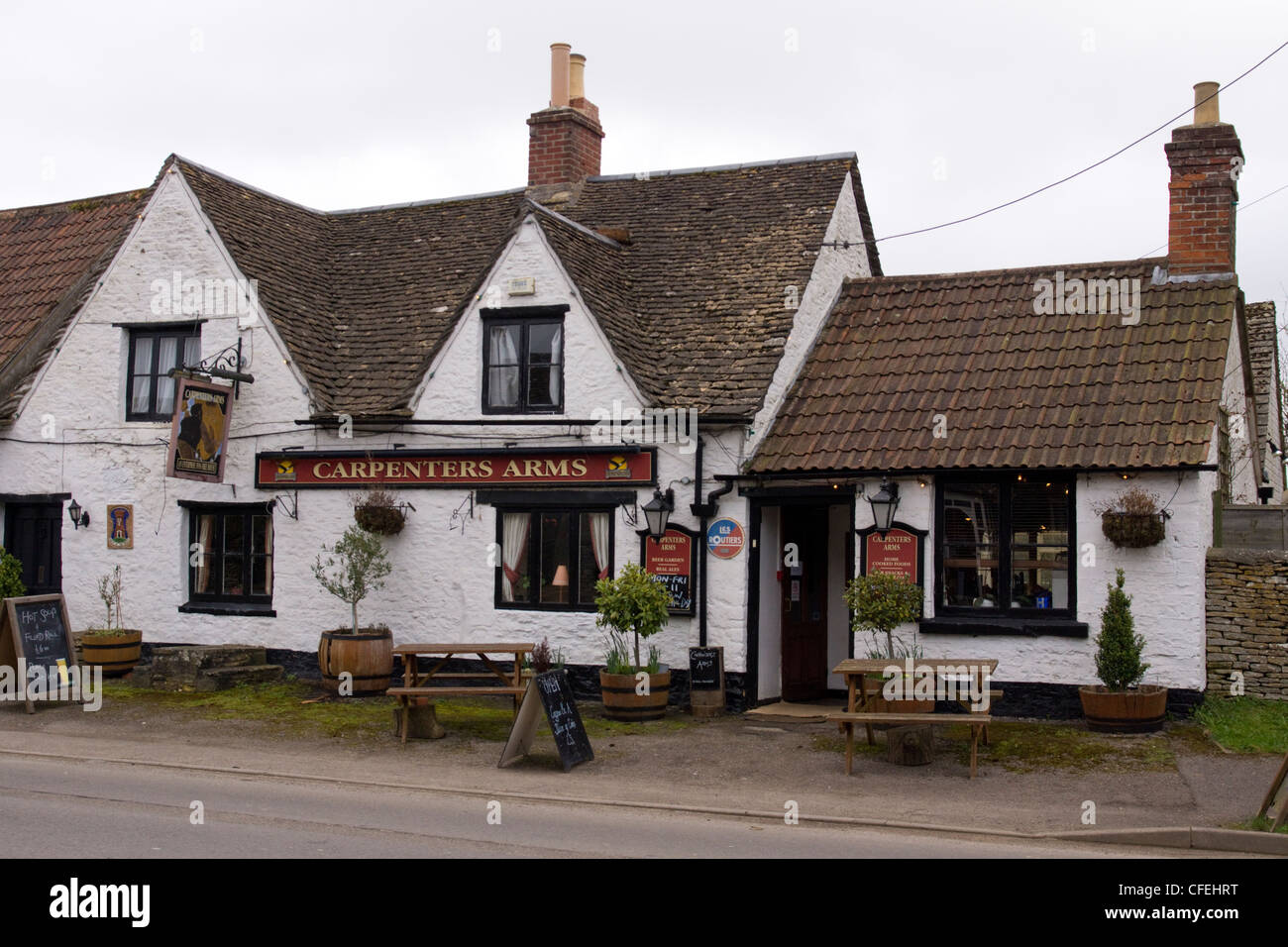 Sherston Wiltshire - Stock Image