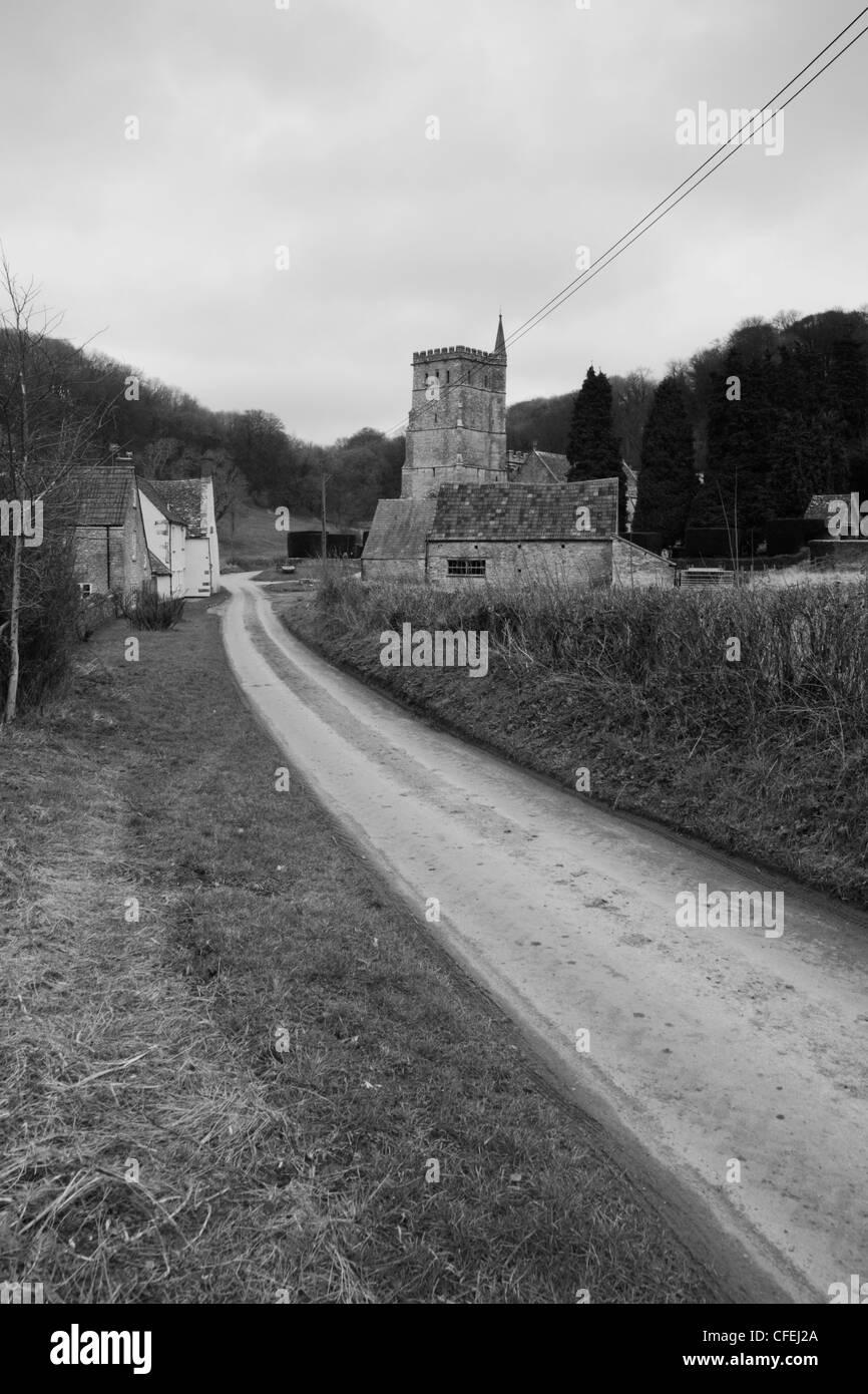 Hawkesbury Gloucestershire - Stock Image
