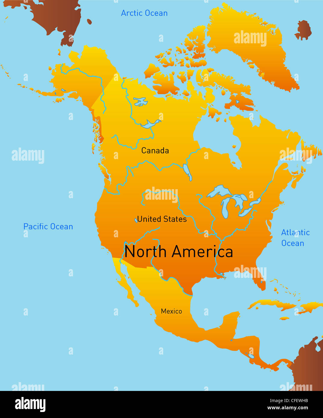 Time Zone Map Usa Stock Photos & Time Zone Map Usa Stock ...