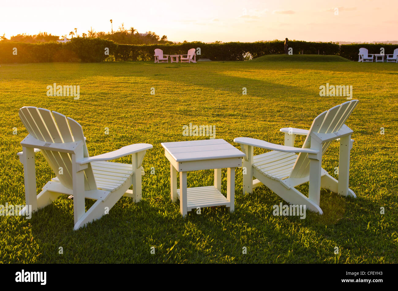 Fairmont Southampton Hotel and Golf Club, Bermuda, Central America - Stock Image