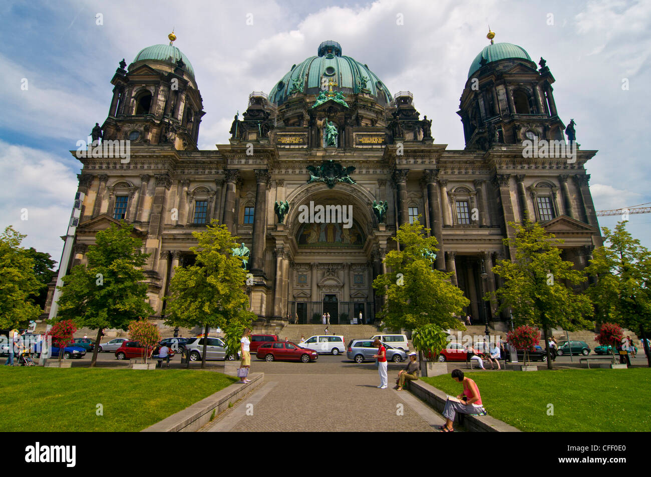 The Berlin Cathedral, a Protestant cathedral, Berlin, Germany, Europe - Stock Image