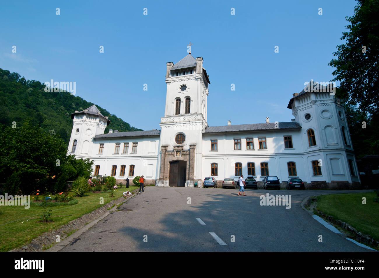 Monastery Secu, Moldova, Romania, Europe - Stock Image
