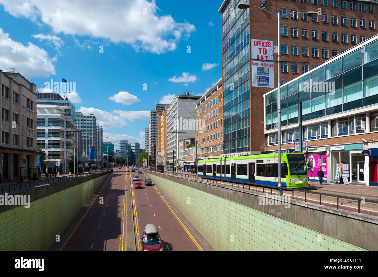 Croydon, Greater London, England, United Kingdom, Europe - Stock Image