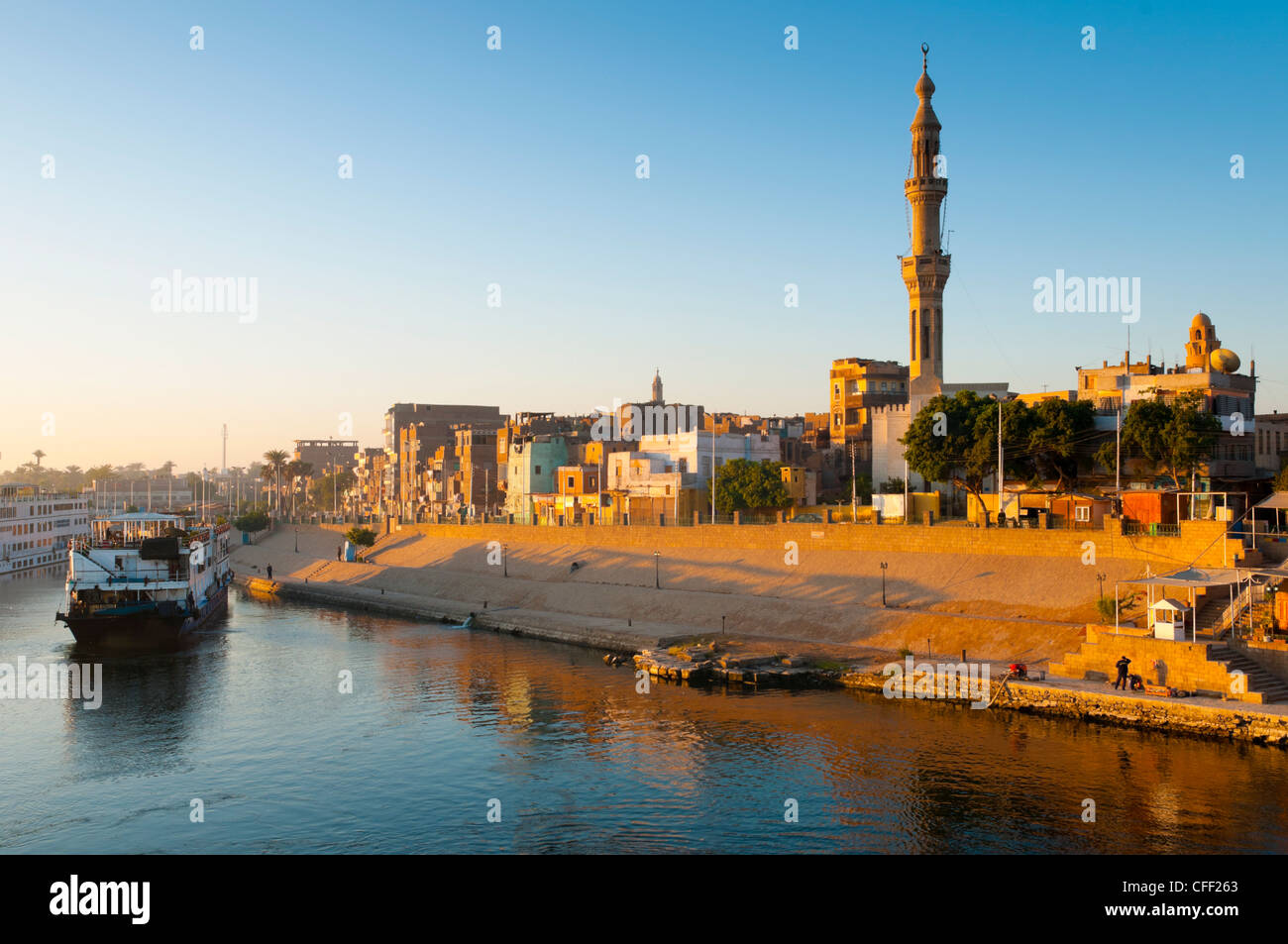 Esna, Upper Egypt, Egypt, North Africa, Africa - Stock Image