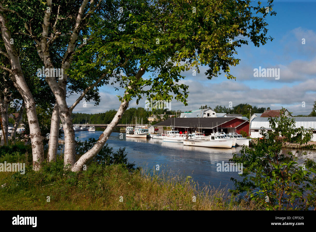 Murray Harbour, Prince Edward Island, Canada - Stock Image