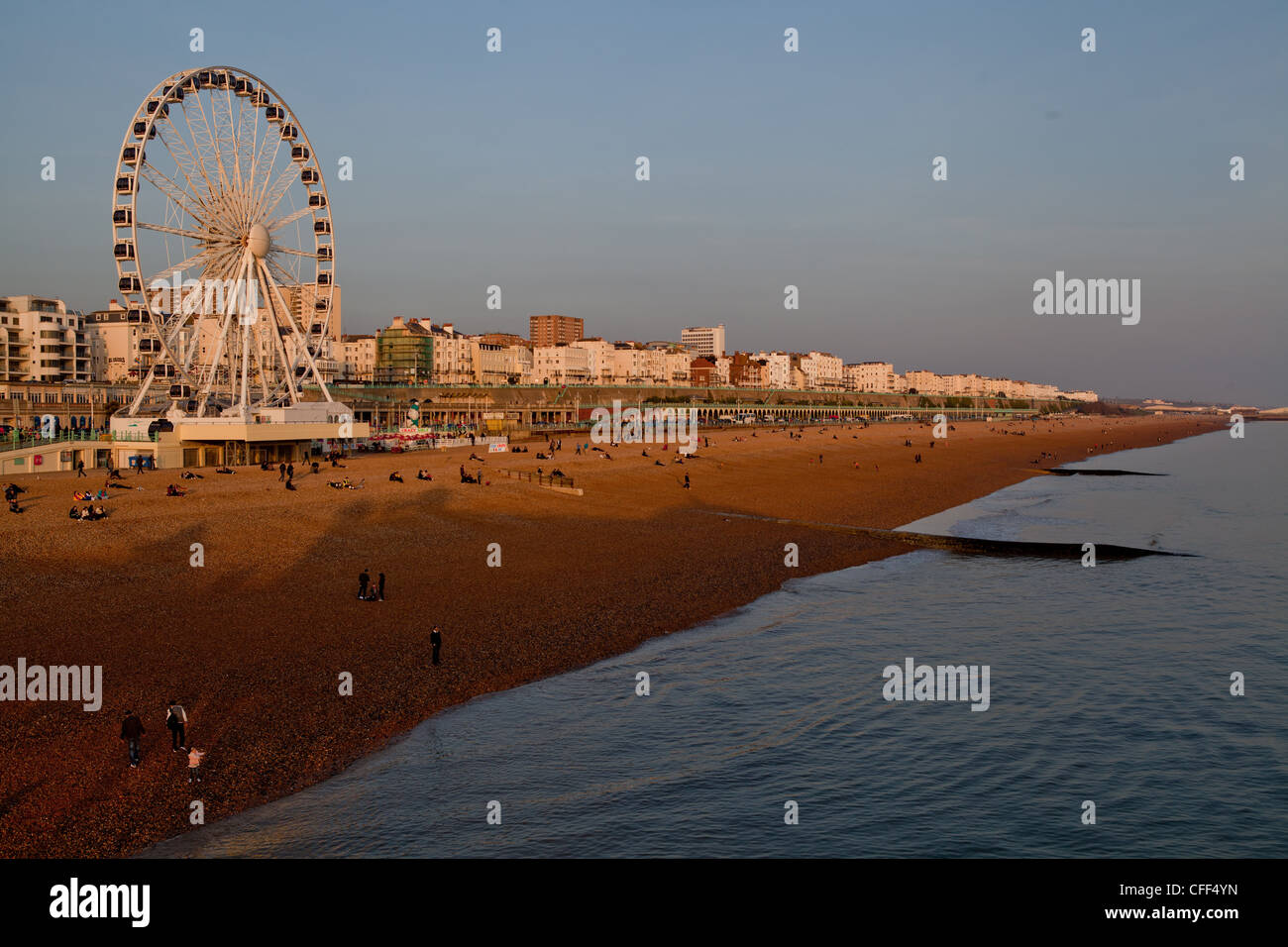 Wheel of excellence, Brighton - Stock Image