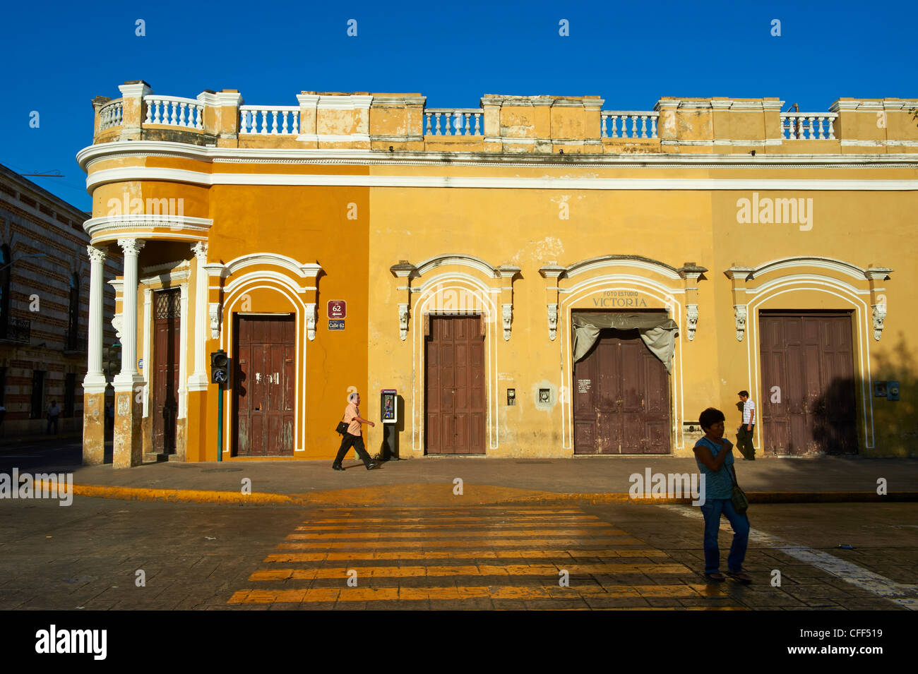 Square of Independence, Merida, the capital of Yucatan state, Mexico, - Stock Image