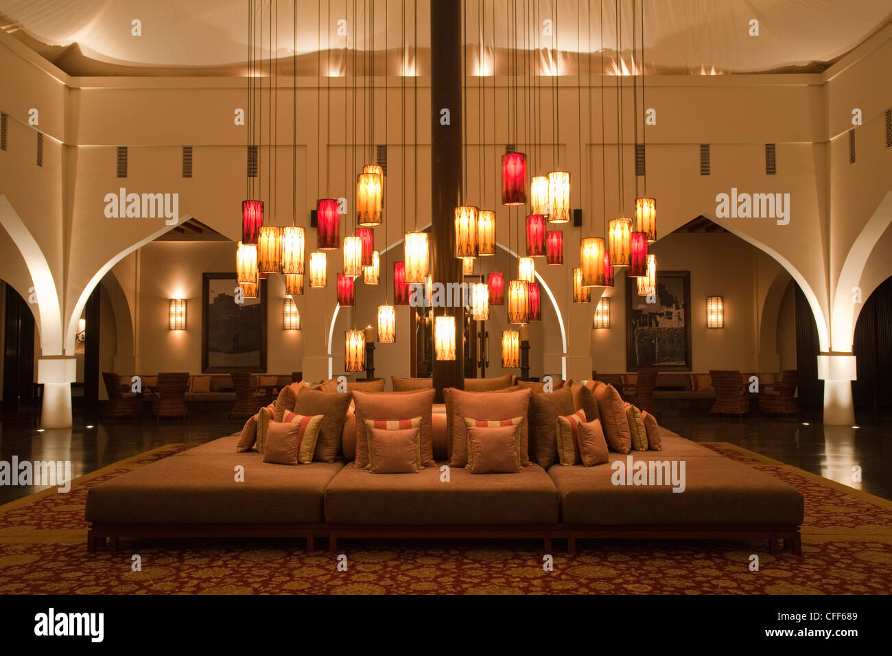 The Hotel Lobby The Chedi Muscat Hotel Muscat Masqat