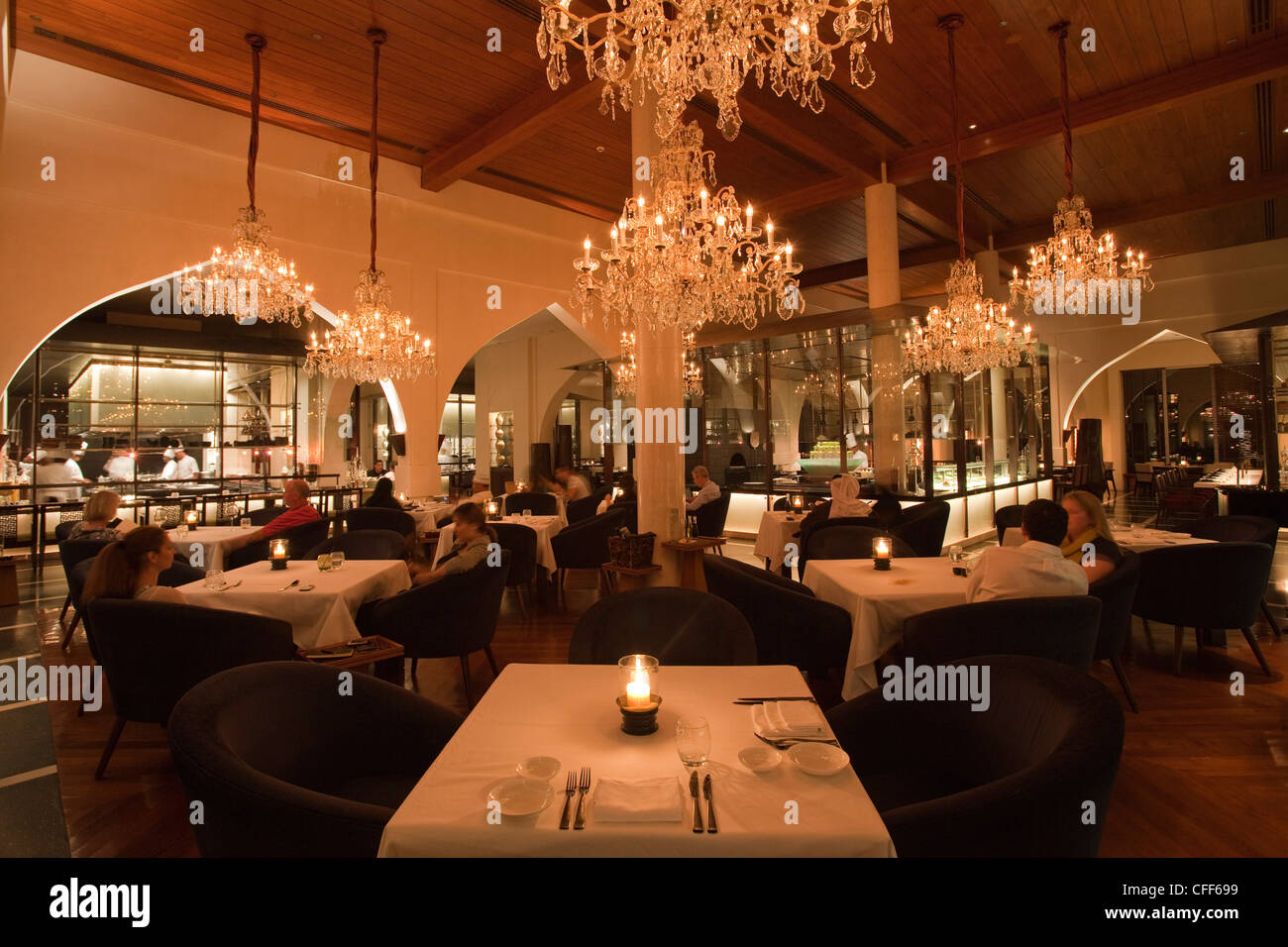Chedi Hotel Muscat Restaurants